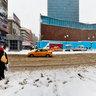 Kar Yağışı, Ziya Gökalp Caddesi