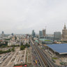 Panorama of Warsaw - Orco Tower view