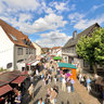 Wine Festival - German City - Floersheim (Wicker)
