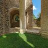 Dans le chœur de l'abbaye d'Hambye  -  France