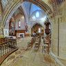 Autel du bas-côté du chœur dans l'église d'Isle-Saint-Georges  -  France
