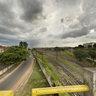 Viaduto da Azarias Leite com vista para Antiga Estação Ferroviária de Bauru