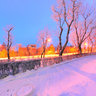 Pink Evening in Pyatigorsk