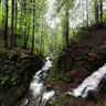Waterfall Satina,Beskydy