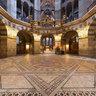 Das Oktogon des Aachener Doms - vor der Restauration