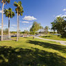 Hill Top View of Freestone Park, Gilbert, Arizona USA