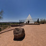East Side of Hunt's Tomb, Papago Park, Phoenix, Arizona USA