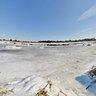 Frozen Salt Marsh, Sandy Hook, NJ, USA