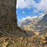 Abai pass in Zaili Alatau mountains