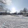 Maassingel in the snow