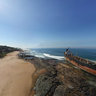Ship run aground on Sheffield beach, near Durban, South Africa