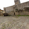 Populonia - Castle into the old town -