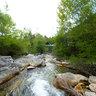 Roccalbegna - Albegna river -