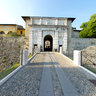 Brescia castle-entrance-
