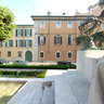 Brescia-Fountain near St. Maria in Calche church-
