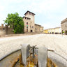 Fontanellato-Castle and fountain-