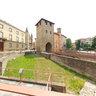 Fidenza-Porta Romanica-Romanesque doorway