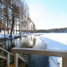 Ahvenlampi winter Swimming place