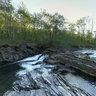 Peřeje na řece Ostravici