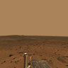 Martian Landscape with Rover Deck - NASA/JPL-Caltech/Cornell