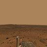 Martian Landscape with Rover Deck - NASA/JPL-Caltech/Cornell