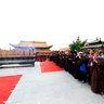 五龙山灵峰禅寺明宽大和尚晋院升座庆典暨三圣殿佛像开光法会