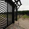 Death gate - Stutthof nazi concentration camp