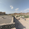 Bahla fort, old town of Bahla and the adobe wall