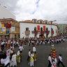 Tomar-2011 Festa dos Tabuleiros Cortejo dos Rapazes-2