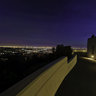 Los Angeles at night from the observatory in Griffith Park