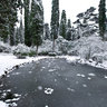 Massandra park - winter