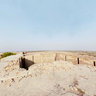 On the top of the Rook Fort Mir Karam Ali Talpur Near Naukot Sindh