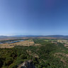 Rogue Valley Medford Oregon from Upper Table Rock