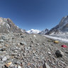 Broad Peak basecamp and K2