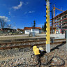 Ilmenau, Central Station that ist beeing rebuild in 2011