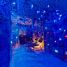 Salt Cave in blue, Taba Heights