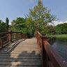 Brücke im Johannapark, Leipzig
