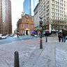 Old State House and other buildings in Boston, Massachusetts, USA