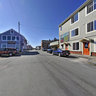 Downtown Lubec, Maine, USA