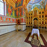 Korenovsk. The Church of Vladimir St.Vladimir. The interior from Trang
