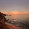 Spiagga Praiola sunset