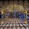 Warwick Castle Weaponry 01 England