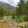Mount Olympus Enipeas Gorge Wooden Bridge 1 Greece