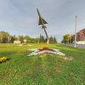 Plane monument in Penza