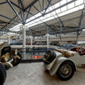 American La France, Amilcar and Auto Union racing cars at the Riga Motormuseum