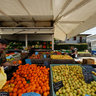 Traveling market at Toscolano-Maderno, Lombardia, Italy