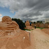 Sand sculpture park - Magic Sand Riga 2011