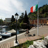 Port of Toscolano, Garda lake, Italy