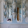 The Porcelain Cabinet near the Golden Hall, Rundale Palace, Latvia