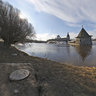 Flooding in the ancient Pskov